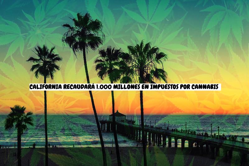 CALIFORNIA RECAUDARÁ 1.000 MILLONES DE DÓLARES EN IMPUESTOS