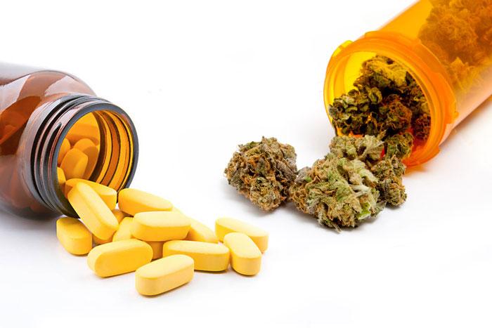 Cannabis frente a opiáceos