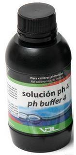 Líquido Calibrador, PH 4, 250 ml.