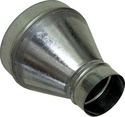 Acople Reducción  125-100 mm.