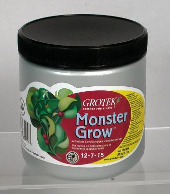 Monster Grow 2,5 Kgr