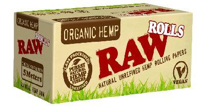 Raw Papel Organic Hemp Rollos