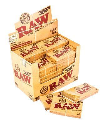 Caja Papel Raw Natural 1 ¼ 300