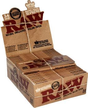 Caja Raw Natural Kingsize Supreme