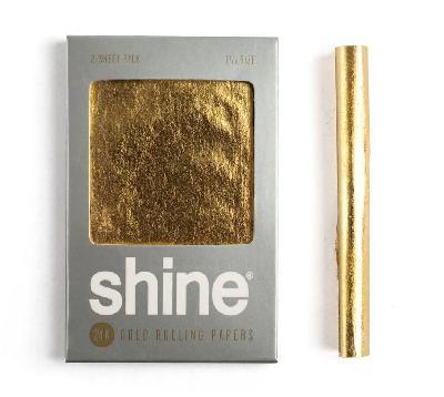 Papel Oro Shine 1 1/4 2 Unidades