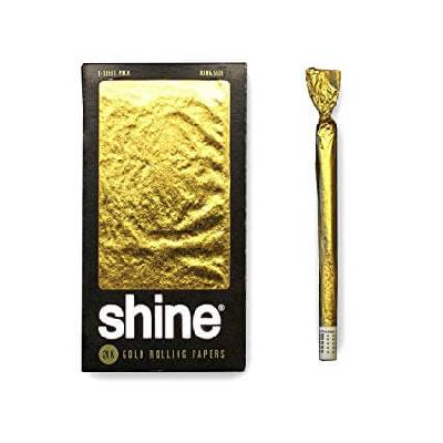 Papel Oro Shine King Size 1 Unidad