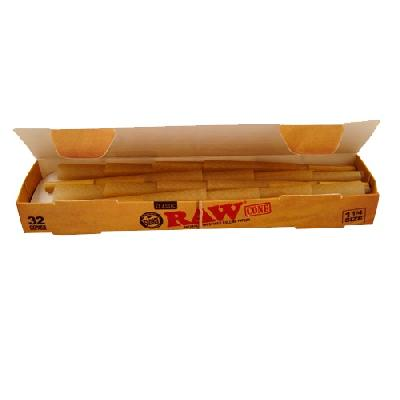 Raw Classic Caja 32 Conos 1 1/4