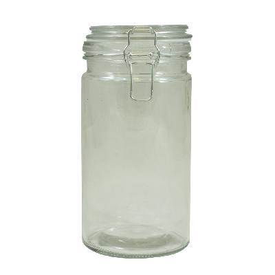 Bote De Cristal 1l (cierre Hermético)