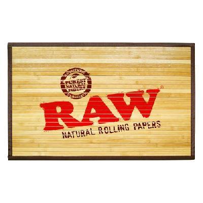 Raw Alfombrilla Suelo Bambu Pequeña Edicion Limitada