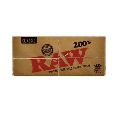 Raw 200 Classic King Size Slim