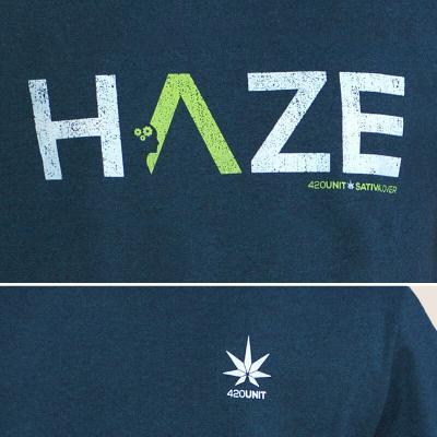 420unit -  Camiseta Haze