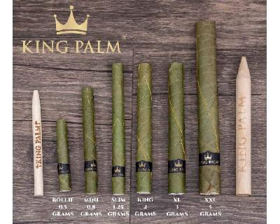 King Palm 5 Mini Rolls + Bóveda 6gr